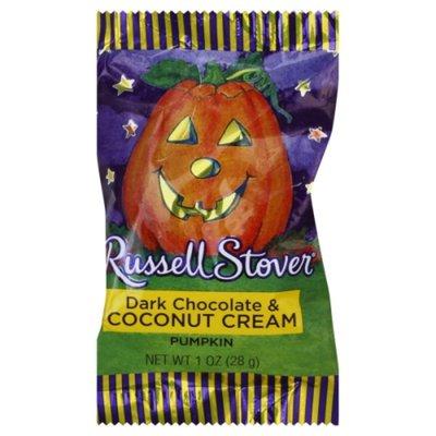 Russell Stover Dark Chocolate & Coconut Cream Pumpkin