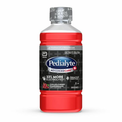 Pedialyte Electrolyte Solution Chilled Cherry Pomegranate