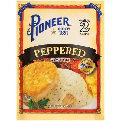 Pioneer Peppered Gravy Mix