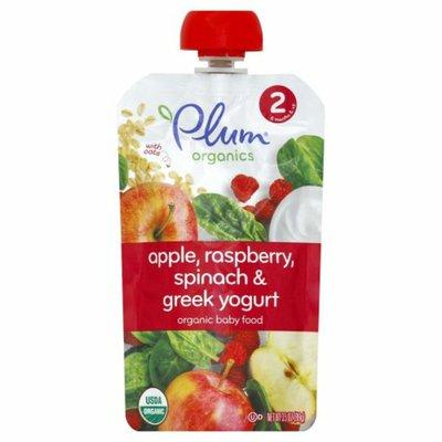 Plum Organics Apple, Raspberry, Spinach & Greek Yogurt