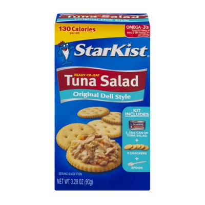 StarKist® Ready-to-Eat Tuna Salad Kit, Original Deli Style