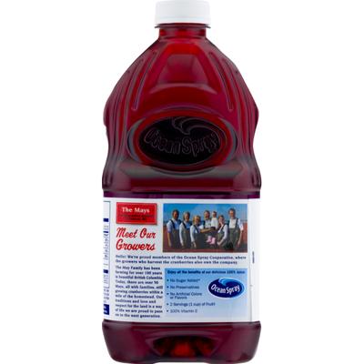 Ocean Spray 100% Juice, No Sugar Added, Cranberry Pomegranate Flavor