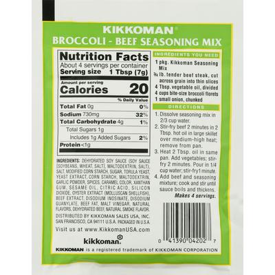 Kikkoman Broccoli Beef Stir Fry Seasoning Mix
