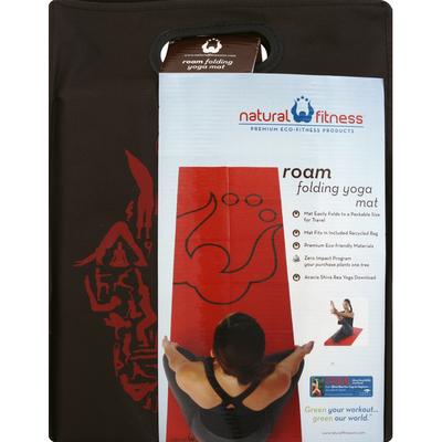 Natural Fitness Yoga Mat, Folding, Roam