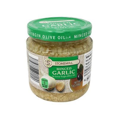 Stonemill Minced Garlic In Extra Virgin Olive Oil