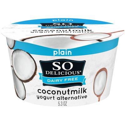 So Delicious Dairy Free Coconut Milk Plain Yogurt Alternative
