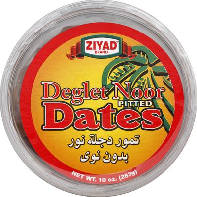 Ziyad Dates, Pitted, Deglet Noor