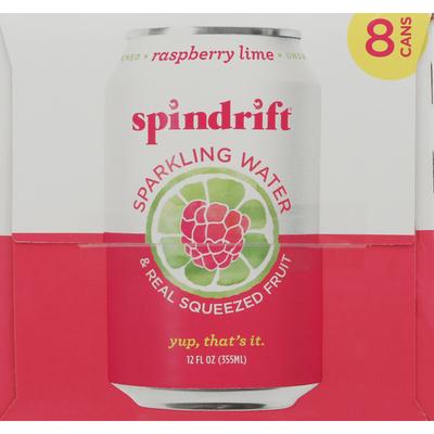 Spindrift Sparkling Water, Raspberry Lime