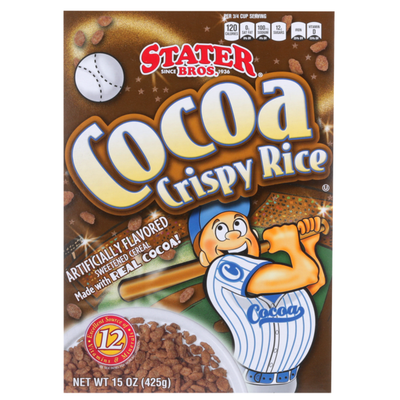 Stater Bros. Markets Cocoa Crispy Rice Sweetened Cereal
