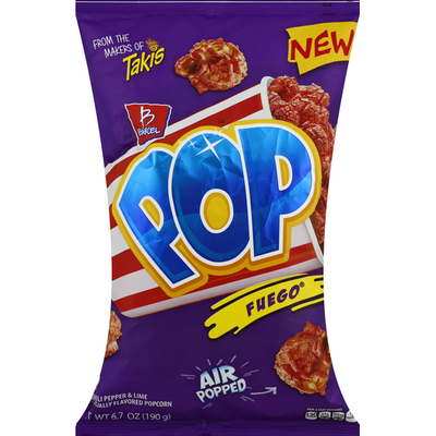 Takis Pop, Hot Chili Pepper & Lime, Air Popped