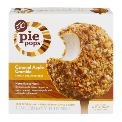 JC's Pie Pops Caramel Apple Crumble - 3 CT