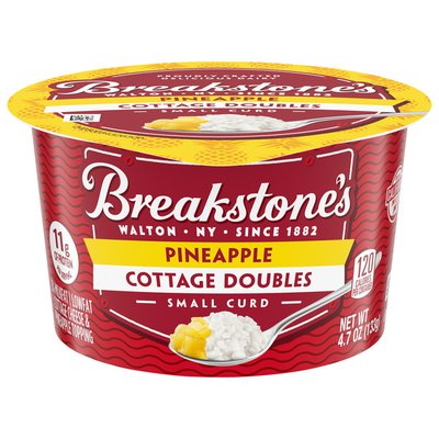 Breakstone'S Cottage Doubles Cottage Cheese & Pineapple Topping