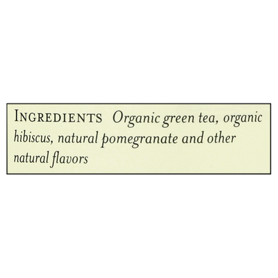 The Republic of Tea Green Tea, Pomegranate Green, Bags
