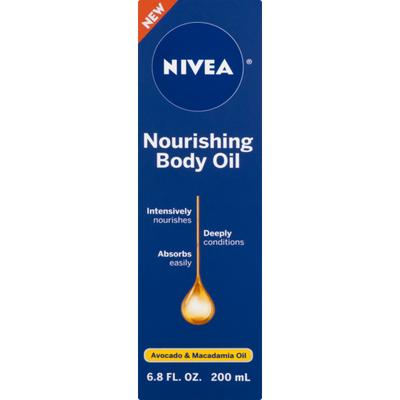 Nivea Nourishing Body Oil with Avocado & Macadamia Oil