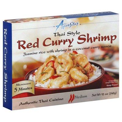 Aqua Star Red Curry Shrimp, Thai Style, Medium