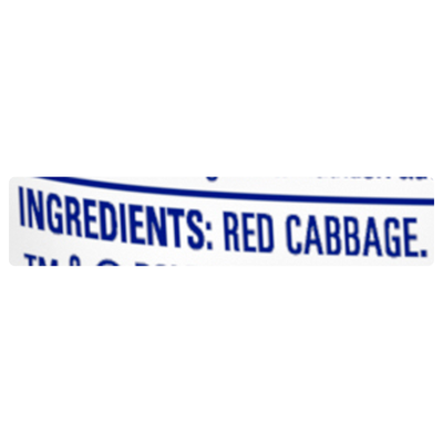Dole Shredded Red Cabbage