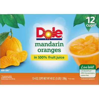 Dole Mandarin Oranges in 100% Fruit Juice