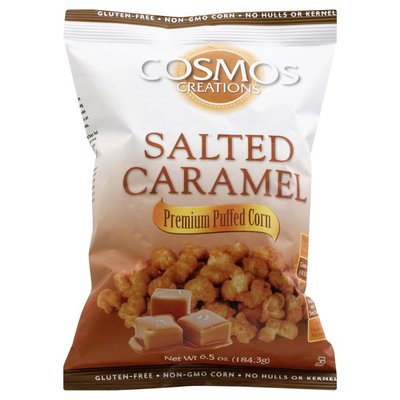 Cosmos Creations Salted Caramel Premium Puffed Corn