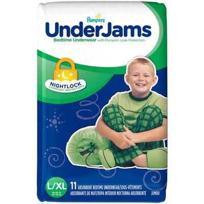 Pampers Underjams Bedtime Underwear Boys Size L/Xl