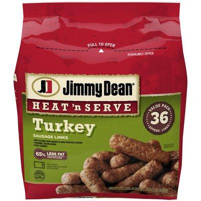 Jimmy Dean Sausage Links, Turkey, Value Pack