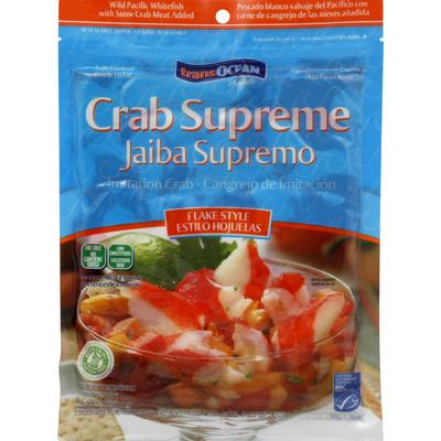 TransOcean Imitation Crab, Flake Style