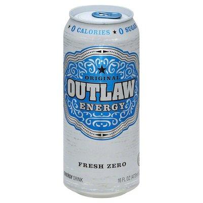Outlaw Energy Drink, Fresh Zero