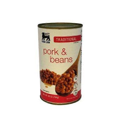 Food Lion Pork & Beans