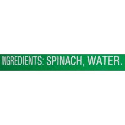 Del Monte Leaf Spinach, No Salt Added