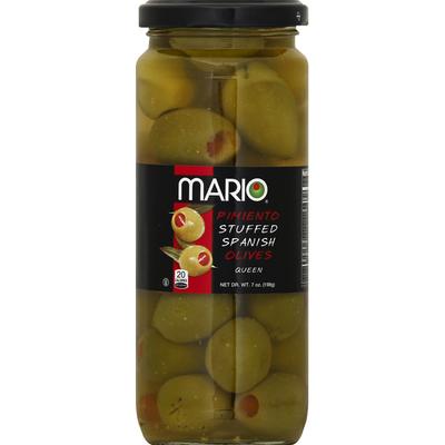 Mario Olives, Pimiento Stuffed Spanish, Queen