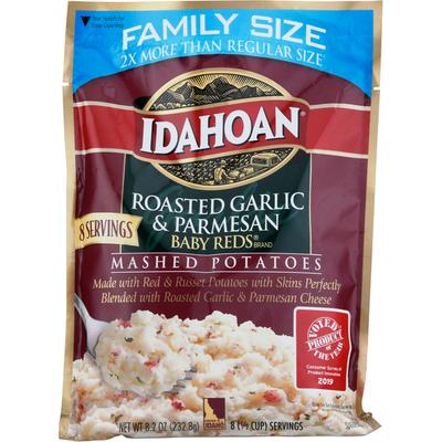 Idahoan Baby Reds w/ Roasted Garlic & Parm Mashed  Potatoes Family Size