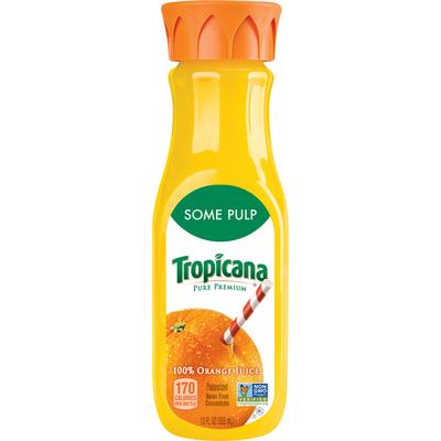 Tropicana Pure Premium Pure Some Pulp Orange Juice Juice