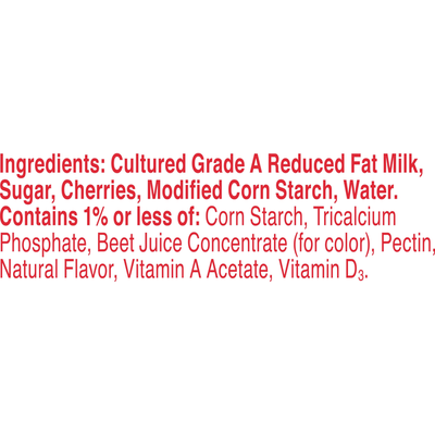 Yoplait Original Yogurt, Cherry Orchard, Low Fat Yogurt