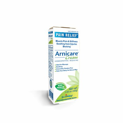 Boiron Arnicare Cream, Homeopathic Medicine for Pain Relief