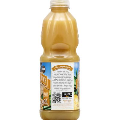 Langers 100% Juice, Pineapple