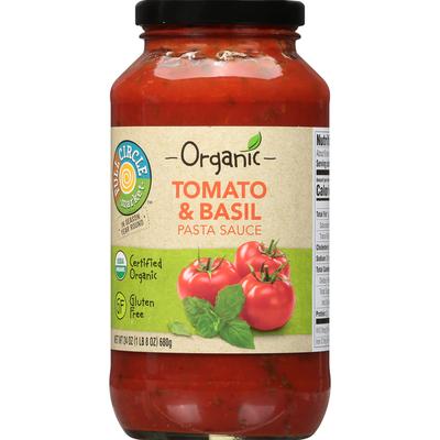 Full Circle Pasta Sauce, Tomato & Basil
