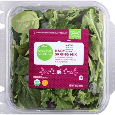 Simple Truth Organic Spring Mix, Organic, Baby