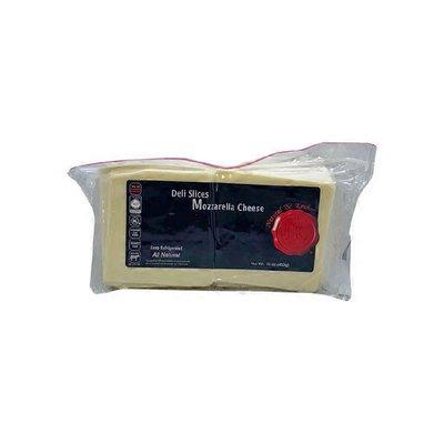 Natural & Kosher Sliced Mozzarella Cheese