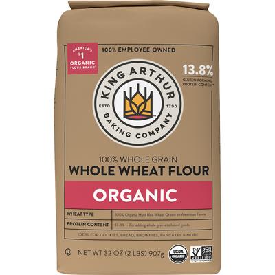 King Arthur Baking Company Whole Wheat Flour, Organic