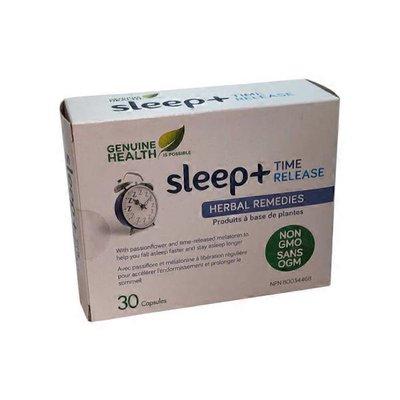 Genuine Health Sleep Plus Time Release Caps