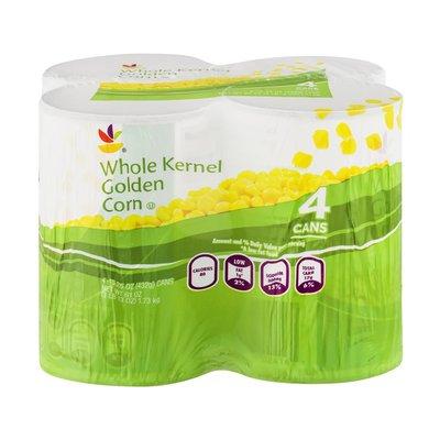SB Whole Kernel Golden Corn - 4 PK
