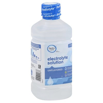 Signature Care Electrolyte Solution, Unflavored