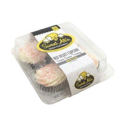 Sweet Ali's Gluten Free Red Velvet Cupcakes