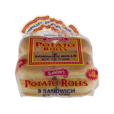 Schmidt's Rolls, Potato, Sandwich