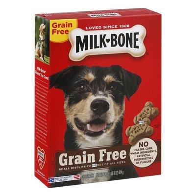 Milk-Bone Dog Snacks, Grain Free