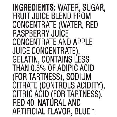 Jell-O Original Raspberry Ready-to-Eat Gelatin Snacks