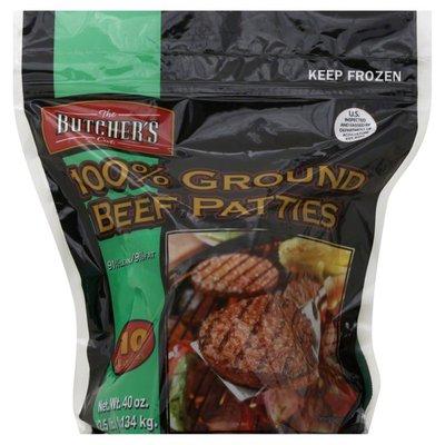 Butcher's Cut 100% Ground Beef Patties