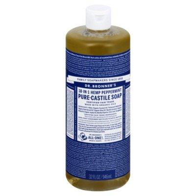 Dr. Bronner's Soap, Pure-Castile, 18-in-1, Hemp Peppermint