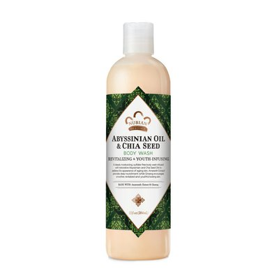 Nubian Heritage Abyssinian Oil Chia Seed Bw Rev+Youth Infusing