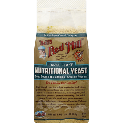 Bob's Red Mill Nutritional Yeast, Large Flake