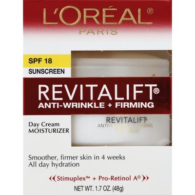L'Oreal Moisturizer, Anti-Wrinkle + Firming